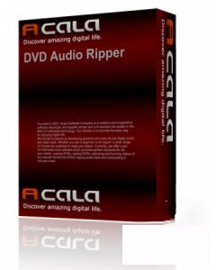 Acala DVD Audio Ripper 4.0.8 (2012) Английский