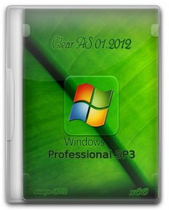 Windows XP Professional SP3 Clear AS 01.2012  (2012) �������