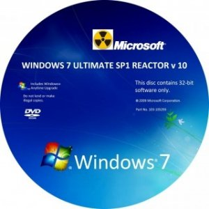 Windows 7 Ultimate SP1 x86 REACTOR v10[fixed] (2012) Русский