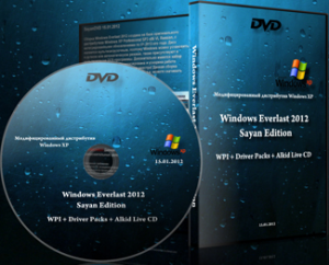 Windows Everlast 2012 Sayan Edition 15.01.2012 (2012) Русский