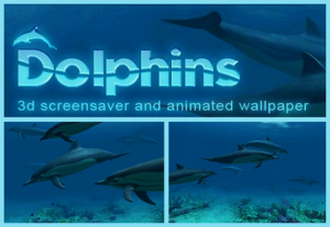 Dolphins 3D Screensaver and Animated Wallpaper (2011) Русский