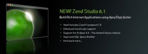 Zend Studio for Eclipse 6.1.0 Linux
