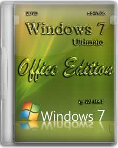 Windows 7 SP1 ULTIMATE OFFICE EDITION 2 DVD by DJ HAY (x86 & x64 ) (2012) Русский