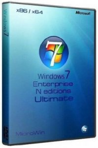 "Windows 7 EnterpriseN x86-x64 /Ultimate x86 SP1 RU ""MicroWin"" Update 01.02.2012 (Русский)"