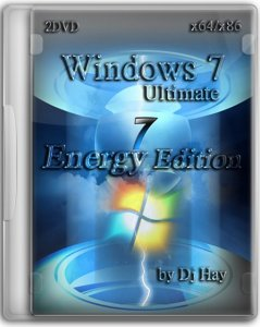 Windows 7 SP1 Ultimate Energy Edition 2 DVD by DJ HAY (2012) Русский