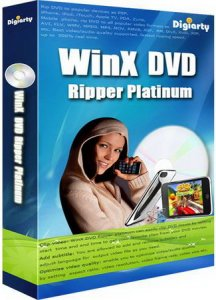 WinX DVD Ripper Platinum v6.8.1 Build 20111214 (2011) Английский
