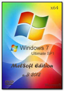Windows 7 x64 MelSoft Edition v.3 (2012) Русский