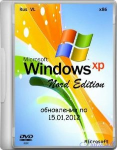 Windows XP SP3 Rus VL  Nord Edition (15.01.2012) X86 vl_x14-74146 (2012) Русский