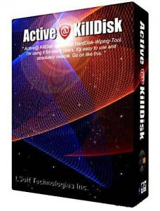 Active@ KillDisk for Windows 5.5 (2012) Английский