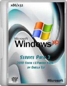 Windows XP SP 3 (2010 Seven eXPanded Final by Omega Elf) 2010 Seven Final (2012)