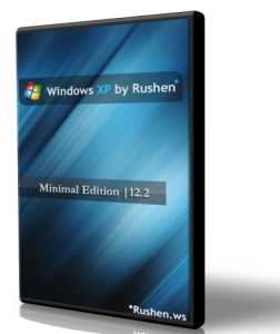 Windows XP by Rushen Minimal Edition v.12.2 (2012) Русский