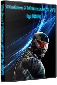 Windows 7 Ultimate x64 SP1 by KDFX (2012) Русский
