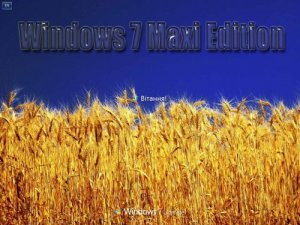 Windows 7 Ultimate x86 Maxi Edition (2010) Украинский