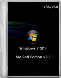 Windows 7 MelSoft Edition (64bit/86bit) v3.1 02.2012 (2012) Русский