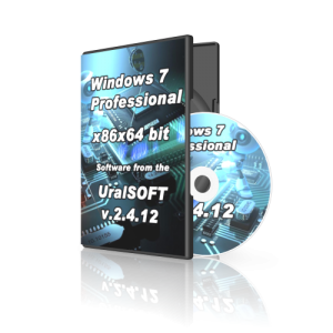 Windows 7x86x64 Professional UralSOFT v.2.4.12 (2012) Русский