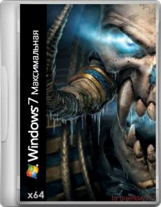 Windows 7 x64 (Warcraft ||| UNDEAD) by greenday777 (2012) Русский