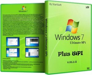 Windows 7 Ultimate SP1 x86 Plus WPI By StartSoft v 10.2.12 (2012) Русский