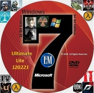 "Windows 7 Ultimate SP1 x86-x64 RU Lite ""LM"" Update 120221 (2012) Русский"