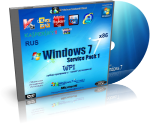 Windows 7 Ultimate Ru x86 SP1 WPI Boot by OVGorskiy 19.02.2012 (2012) Русский