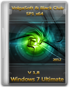 Windows 7 Ultimate SP1 x64 VolgaSoft & Black Club v 1.8 (2012) Русский