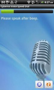 Voice Speed Dial v1.2.7 [Android 1.5+, ENG]