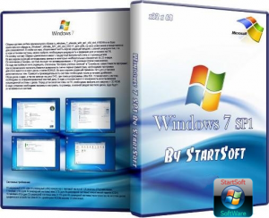 Windows 7 Ultimate SP1 (x32 x64) By StartSoft v 15.3.12 (2012) Русский