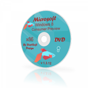 Windows 8 Consumer Preview x32 By StartSoft v 1.3.12 (2012) Английский