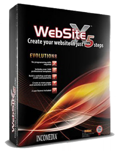 Incomedia WebSite Evolution X5 v8.0.11 (Eng+Rus) 2009