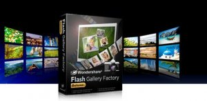 Wondershare Flash Gallery Factory Deluxe 5.2.0.9 x86 [2011, ENG]