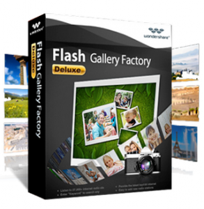 Wondershare Flash Gallery Factory Deluxe 5.2.0.9 Portable [2011,ENG]