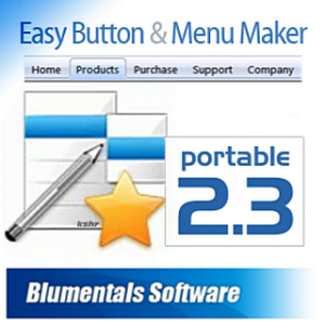 Easy Button & Menu Maker 2.3 Personal Portable [2011,ENG]