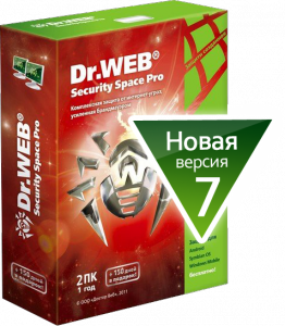 Dr.Web Anti-Virus + Dr.Web Security Space Pro 7.0.1.3050 (2012)