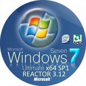 WINDOWS 7 ULTIMATE (x64) SP1 REACTOR 3.12 (2012) Русский