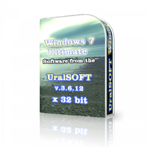 Windows 7 (x86) Ultimate UralSOFT v.3.6.12 (2012) Русский