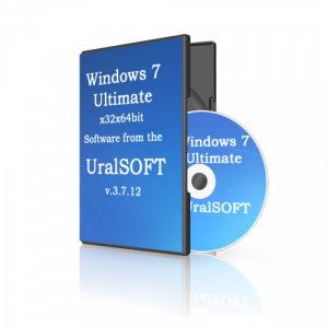 Windows 7x86x64 Ultimate UralSOFT v.3.7.12 (2012) Русский