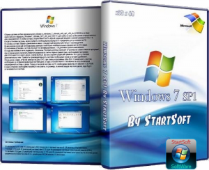 Windows 7 Ultimate SP1 (x32 /x64) By StartSoft v 16.4.12 (2012) Русский