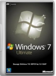 Windows 7 SP1 Ultimate Energy Edition V3 2 DVD by CJ HAY (20120 Русский