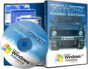 Windows XP Professional SP3 (X-Wind) by YikxX, RUS, VL, x86, AHCI/RAID Adv [Naked Edition] (26.03.2012) [������]
