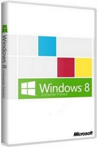 Microsoft Windows 8 Release Preview 32/64-bit DVD WPI 06.07.2012