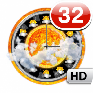 [+iPad] eWeather HD - Weather forecast, Radar and Temperature on your home screen [v2.4, Weather, iOS 3.2, RUS]
