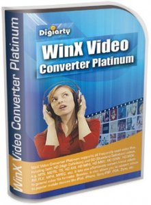 WinX Video Converter Platinum v 5.9.4 (2010) Английский