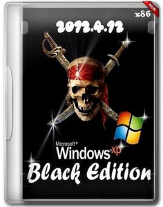 Windows XP Professional SP3 Black Edition (х86) (12.04.2012) Русский + Английский