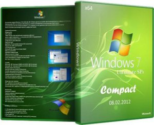 Windows 7 Ultimate SP1 x64 Compact (08.04.2012) Русский