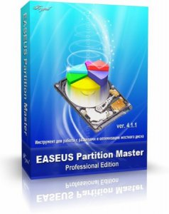 EASEUS Partition Master Professional Edition 4.1.1 (2009) Английский