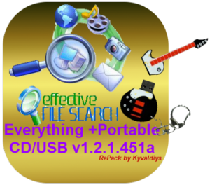 Everything v1.2.1.451а Final + Portable for CDUSB (RePack by Kyvaldiys) (2012) Русский присутствует