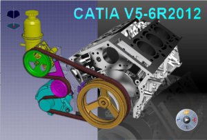 DS CATIA V5-6R2012 (aka V5R22) P2 GA (x86+x64) + English Documentation (2012) Русский поддерживается
