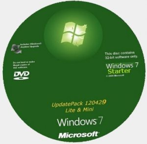 "Microsoft Windows 7 Starter SP1 x86 RU Lite & Mini ""Modern"" 120429 (2012) Русский"