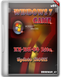 Microsoft Windows 7 Game-EN-RU-64 Lite Update 120511 (2012) Русский + Английский