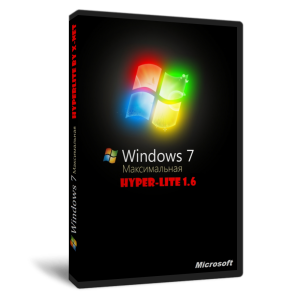Windows 7 - Hyper-Lite 1.6 - SP1 by X-NET (x64) (2012) Русский
