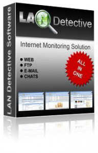 LanDetective Internet Monitor 1.60 Portable (2010) Английский